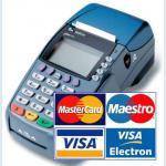 Оплата банковской картой курьеру
